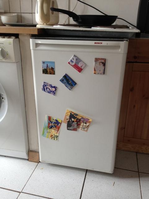 Refrigerators in Paris