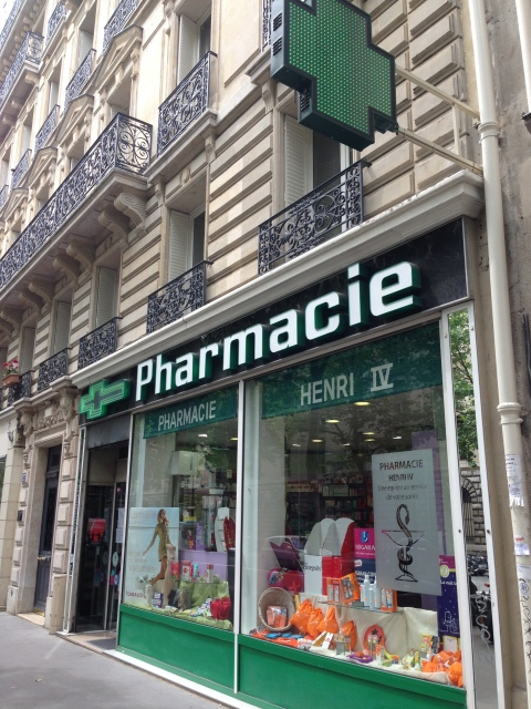 Pharmacies in Paris
