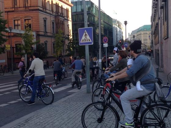 Berlin bike lanes