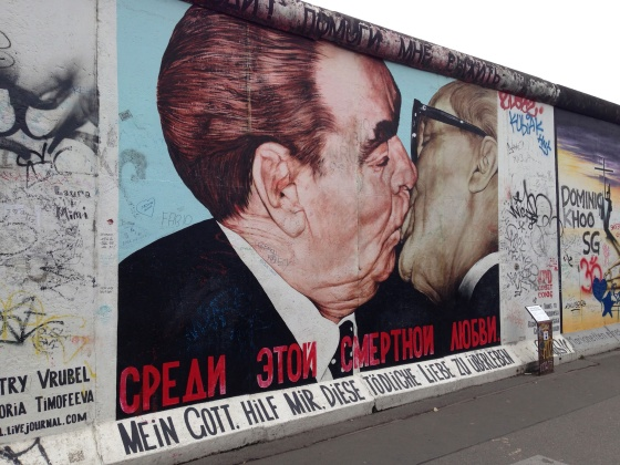 Seeing the Berlin wall